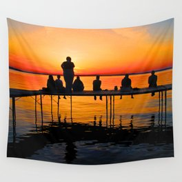 Sconnie Sunset Wall Tapestry