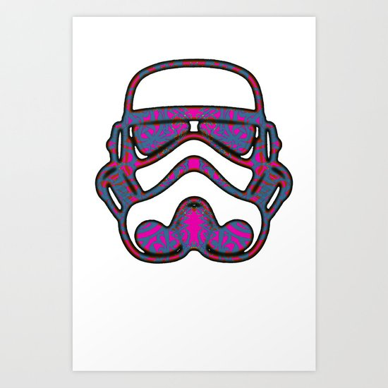 Trooper 1 Art Print