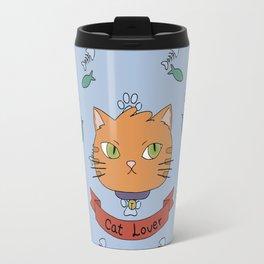 Cat lover 1 Travel Mug