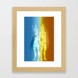 Fiona & Flame Prince Framed Art Print