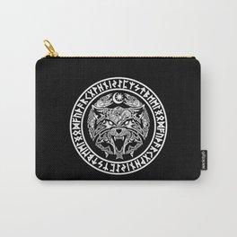 Viking Fenrir Emblem - Wolf Norse Mythology Carry-All Pouch