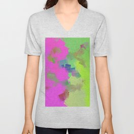 Laughing dices ... Unisex V-Neck