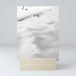 Snow Close up // Winter Landscape Powder Snowing Photography Ski Snowboarder Snowy Vibes Mini Art Print