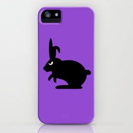 Angry Animals: Bunny iPhone Case
