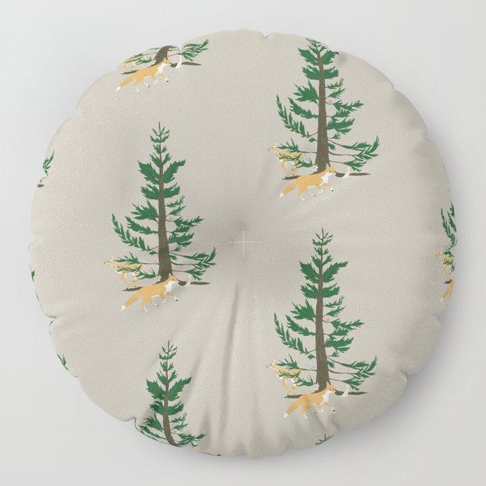 Forest Whimsy Floor Pillow