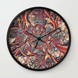 Kaleidescope Wall Clock