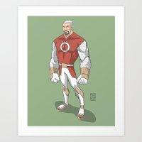 captain silva Art Prints featuring Captain by Fernando Cano Zapata