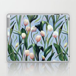 Waiting on the Blooming - a Tulip Pattern Laptop & iPad Skin