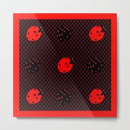 Luck be a Ladybug Tonight Metal Print