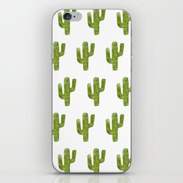 Geometric Cactus iPhone Skin