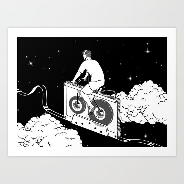 Slow Ride Art Print