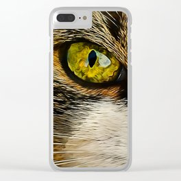 Cats Eyes Clear iPhone Case