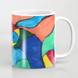 Stained Glass Eye Coffee Mug
