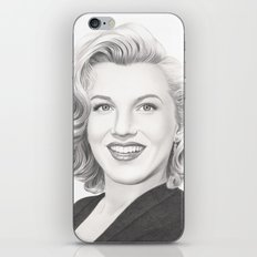 From Norma Jean to Marilyn iPhone & iPod Skin