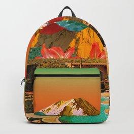 Shining summer Backpack