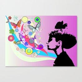Audrey Hepburn Canvas Print
