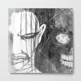 WormBoy Metal Print