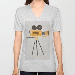 Cine Camera Unisex V-Neck