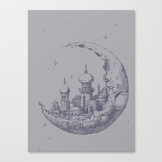 An Arabian Crescent Canvas Print