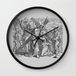 Classical Biblical Art Wall Clock
