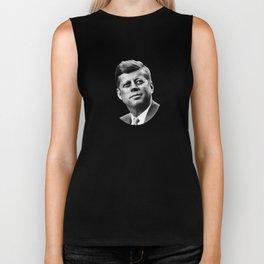 President John F. Kennedy Biker Tank