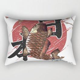 Koi Japan Rectangular Pillow