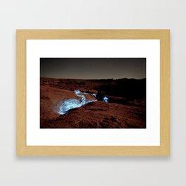 Downflow Framed Art Print