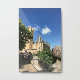 Alcazar de Segovia Metal Print