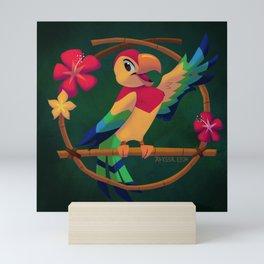José the Tiki Bird Mini Art Print