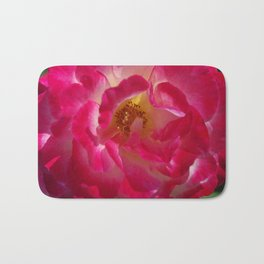 A Rosy Glow - Double Delight Rose Bath Mat