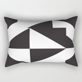 losanges noirs Rectangular Pillow