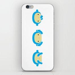 3 Wise Monkeys iPhone Skin