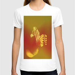 The zebra who loses these feathers T-shirt