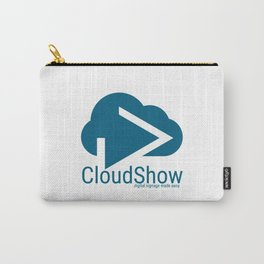 CloudShow (blue logo) Carry-All Pouch