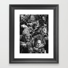 sons of anarchy Framed Art Print