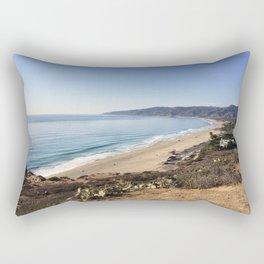 Malibu, California - Coastline Rectangular Pillow
