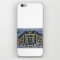 switzerland iPhone & iPod Skins featuring Geneva -  Switzerland by Vehen§Nes