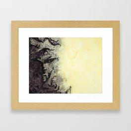 Out of the Dark Framed Art Print
