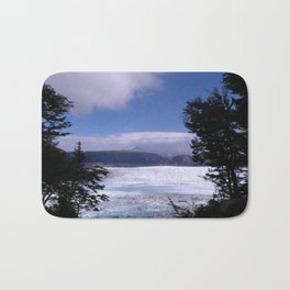 Grey Glacier Bath Mat