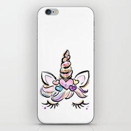 Gift for her Unicorn, Adult Unicorn mom, Women Cute Unicorn, Unicorn mum, Unicorn lover iPhone Skin