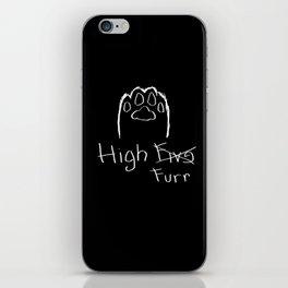 High Furr iPhone Skin