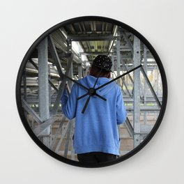 Familiar Places Wall Clock