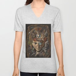 Labyrinth Unisex V-Neck