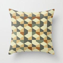 Abstract Geometric Artwork 60 Throw Pillow