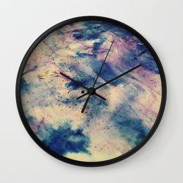 Abstract Color Enhance Wall Clock