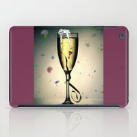 champagne iPad Cases featuring Champagne by CokecinL