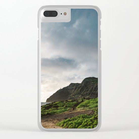 Makapu'u Point Lighthouse Clear iPhone Case