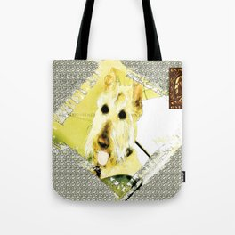 Wheaten Scottish Terrier - During Sickness and Health Tote Bag