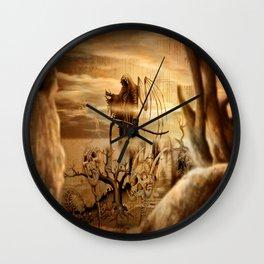 The Reaper Wall Clock