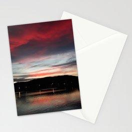 Floripa Red Sunset Stationery Cards
